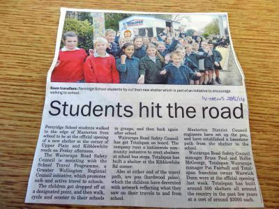 Fernridge School Shelter and Pou Project