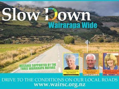 Slow Down Wairarapa Wide