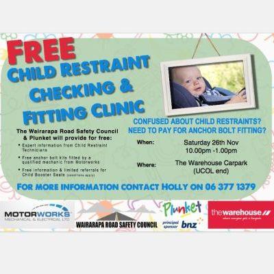 Child Restraint Fitting & Clinic 2016
