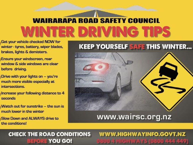 WINTER DRIVING GIVEAWAYS!