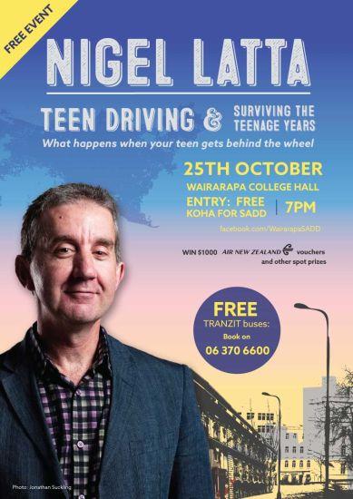 NIGEL LATTA - TEEN DRIVING & SURVIVING THE TEENAGE YEARS