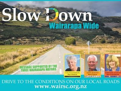 Slow Down Wairarapa Wide