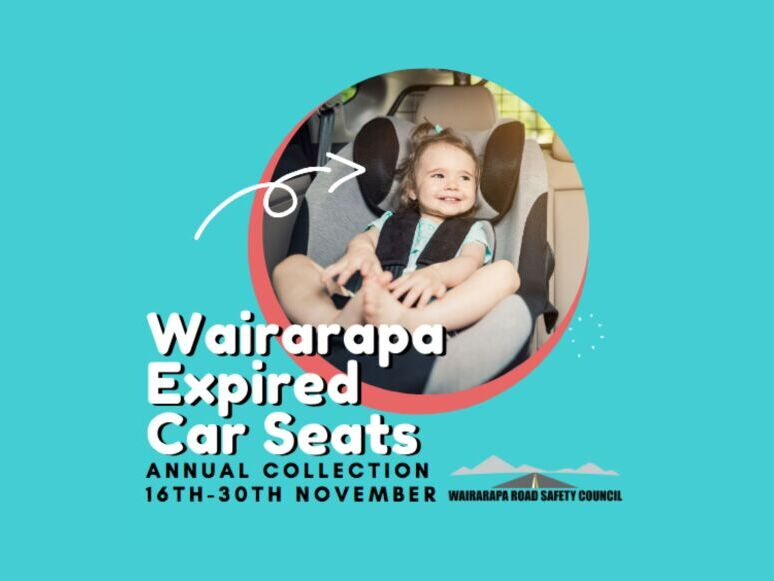 Wairarapa Damaged/Expired Car Seat Amnesty 2020
