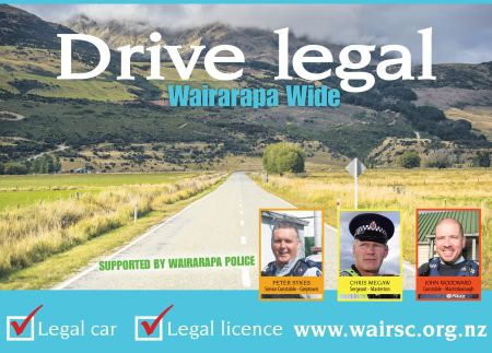Road Safety wants us to 'drive legal'