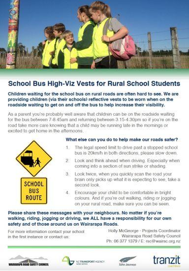 Rural Schools High Vis Vest Rollout